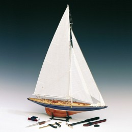 Endeavour 1934 with tools 1/80 wooden boat Amati