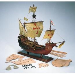 Santa Maria 1/65 boat wooden Amati