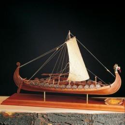 Boat Viking Drakkar 1: 50 Amati wooden boat