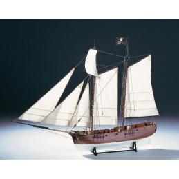 Bateau pirate Adventure 1/60 bateau en bois Amati
