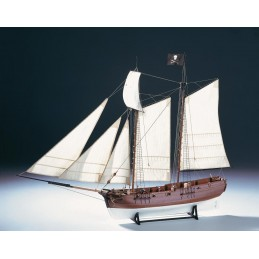 Pirate ship Adventure 1/60 boat wooden Amati
