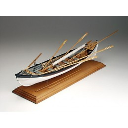 Whaling 1/16 Amati wooden boat