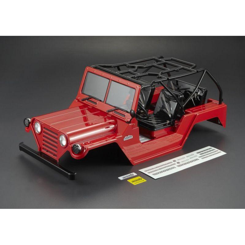 carrosserie warrior peinte rouge 1 10 killerbody kb48444. Black Bedroom Furniture Sets. Home Design Ideas