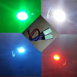Pad Led front or rear 10x20mm blue (2)