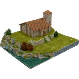 Church Santa Cecilia (Spain) 1400pcs comp ceramic Aedes