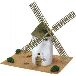 Moulin La Mancha (Espagne) 1250pcs maquette en céramique Aedes