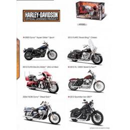 Harley Davidson 1/12 modèle au choix Maisto