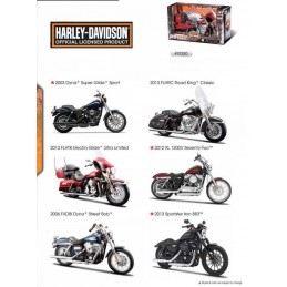 Harley Davidson 1/12 model choice Maisto