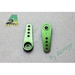 Rudder servo Hitec simple alu 22mm Green