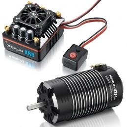 Combo XERUN XR8 more + XERUN 4274 2250kv sensored G2 1/8 Hobbywing