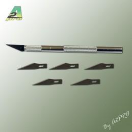 Couteau scalpel ø8 avec lames