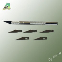 Knife scalpel with blades o8
