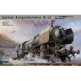 Locomotive à vapeur allemande BR52 1/72 Hobby Boss
