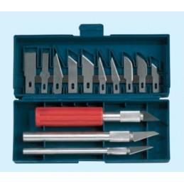 Set de 3 couteaux de précision avec lames