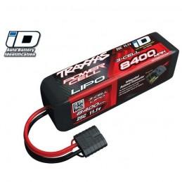 LiPo 3S 11.1V 8400mAh 25C ID Traxxas