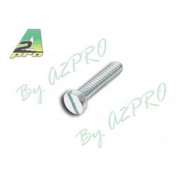 Vis tête cylindrique acier 1.6x12mm A2pro