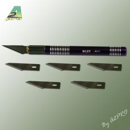 Couteau scalpel ø11 avec lames