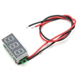 Mini display of voltage 3V - 30V