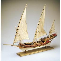 Xebec 1/60 bateau en bois Amati
