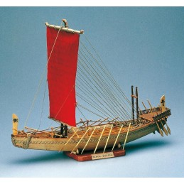 Ship Egyptian 1: 50 Amati wooden boat