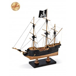 Boat Pirate 1/135 model boat start wooden Amati