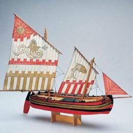 Trabaccolo bateau en bois Amati