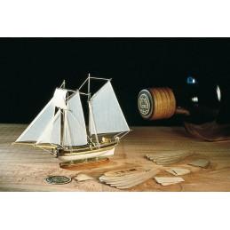 Kit Hannah 1/300 bateau en bois Amati en boueille
