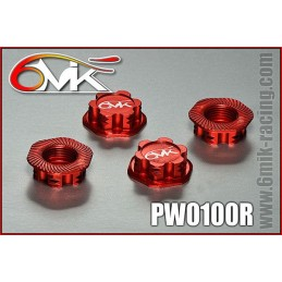 Wheel nuts one-eyed 1.0 mm red Answer