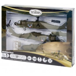 UH60 Blackhawk Testor 1/60