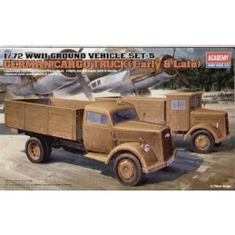 WWII German Trucks 1/72 Academy