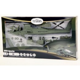 1/32 Testor Apache helicopter