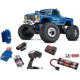 Monster Truck BigFoot N ° 1 Ford 2WD XL-5 TQ ID 1/10 RTR Traxxas