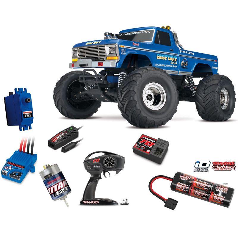 monster trucks et tout terrain télécommandés - next model rc