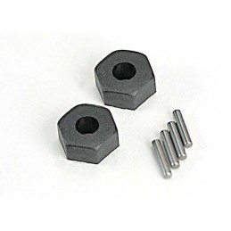 Hexagones de roue 12mm (x2) Traxxas