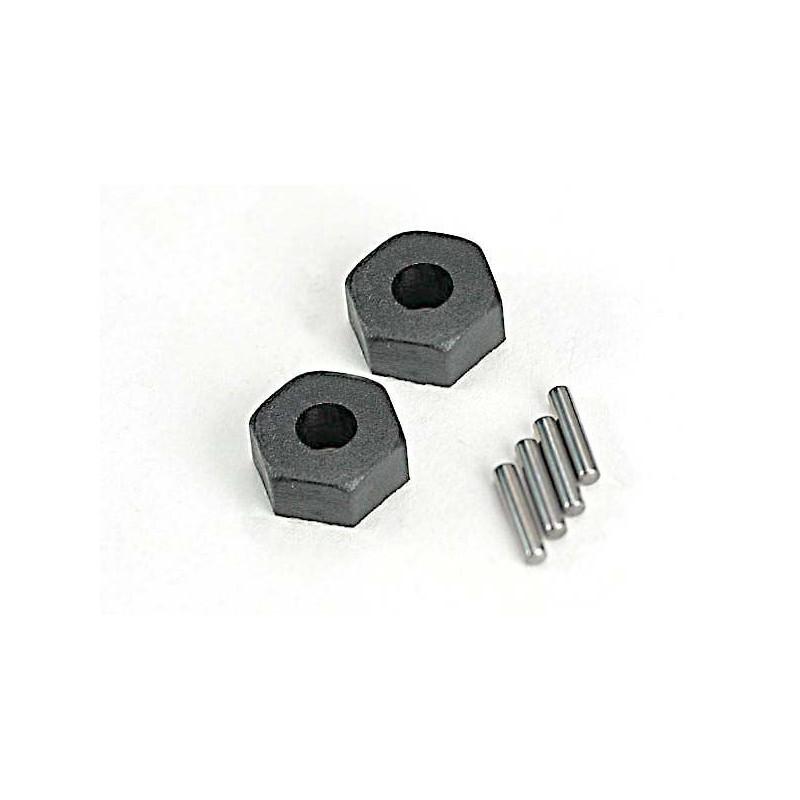 Hexagones de roue 12mm (x2) Traxxas