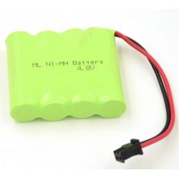 Batterie Ni-Mh 4.8V 700mAh pour Rock Crawler 1/18 SIVA