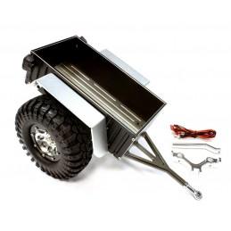 Remorque utilitaire noire pour Scale Crawler 1/10 Integy