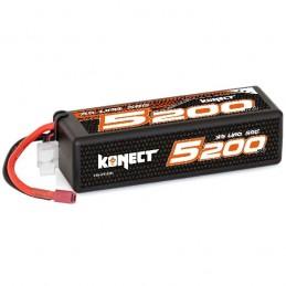 Li-Po 5200mAh 50C 3S 11.1V coqué (Dean) Konect
