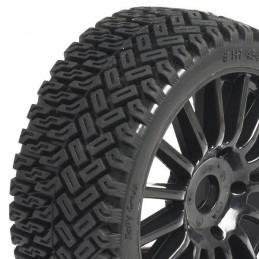 Rallycross tyres on RIM to black sticks 1/8 Hobbytech TT