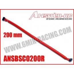 Cable silicone pour moteur Brushless Sensor 200mm Answer