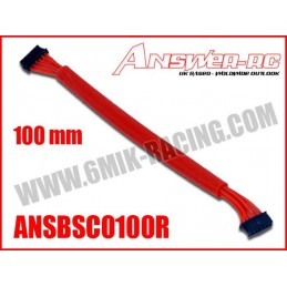 Cable silicone pour moteur Brushless Sensor 100mm Answer