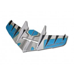 Crack Wing blue RC Factory EPP Kit