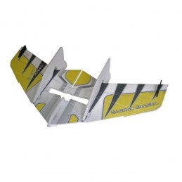 Crack Wing Jaune Kit EPP RC Factory