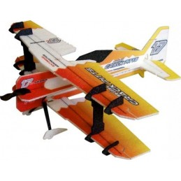 Crack PITTS orange 600mm RC Factory EPP Kit