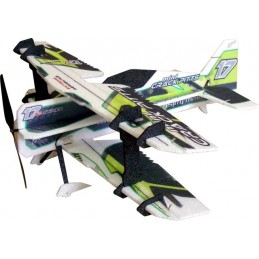 Crack green 600mm PITTS RC Factory EPP Kit