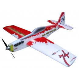 Mustang rouge 780mm Kit EPP RC Factory
