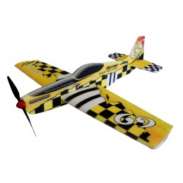 Mustang jaune 780mm Kit EPP RC Factory
