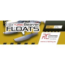 Floats for Crack Turbo Beaver RC Factory EPP