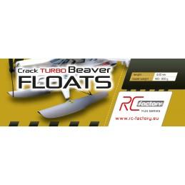 Flotteurs pour Crack Turbo Beaver EPP RC Factory