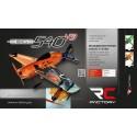 EDGE 540 V3 Vert SuperLite 840mm Kit EPP RC Factory